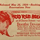 Dorothy Devore in Hold Your Breath (1924)