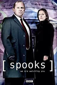 Peter Firth and Nicola Walker in Spooks (2002)