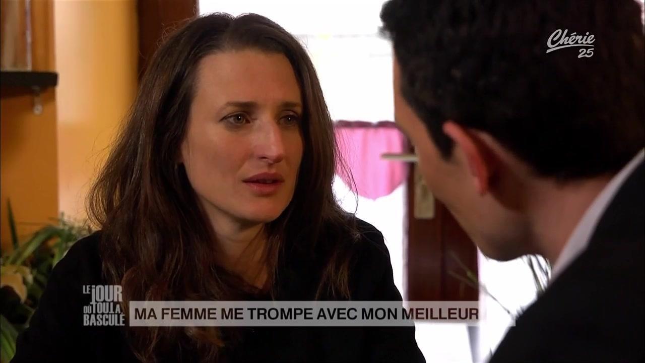 Camille Cottin in Ma femme me trompe avec mon meilleur ami (La dépression) (2012)