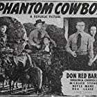 Don 'Red' Barry and Virginia Carroll in The Phantom Cowboy (1941)