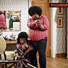 Tichina Arnold and Cedric the Entertainer in The Neighborhood (2018)