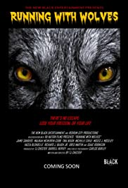 Running with Wolves Poster