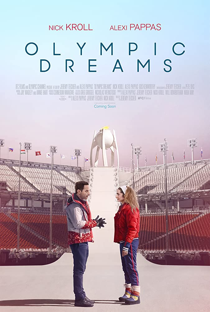 Nick Kroll and Alexi Pappas in Olympic Dreams (2019)
