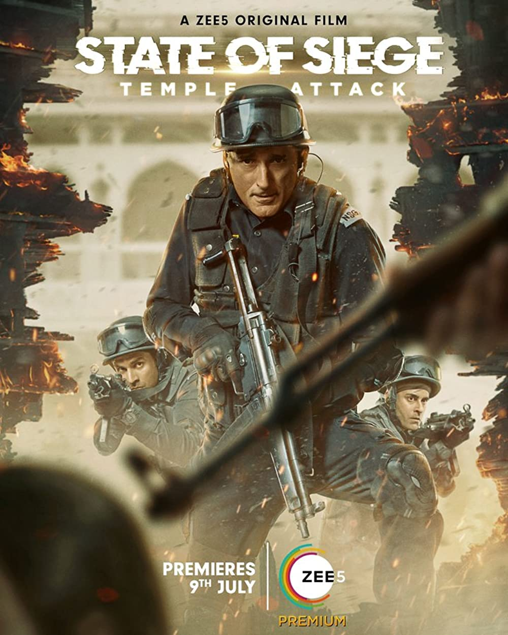 State of Siege Temple Attack 2021 Hindi Movie 480p HDRip MSub 350MB x264 AAC