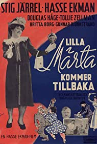 Stig Järrel in Lilla Märta kommer tillbaka eller Grevinnans snedsteg eller Den vilda jakten efter det hemliga dokumentet (1948)