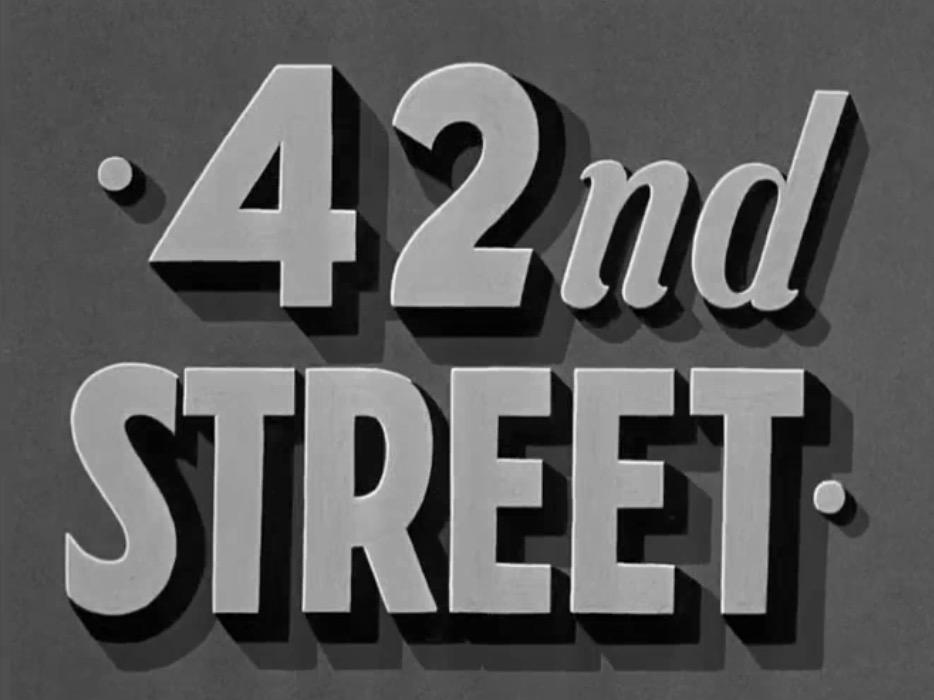 第四十二街剧照点击放大
