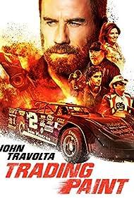 John Travolta, Michael Madsen, Shania Twain, Kevin Dunn, and Toby Sebastian in Trading Paint (2019)