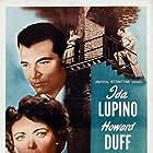 Howard Duff, Ida Lupino, and Stephen McNally in Woman in Hiding (1950)