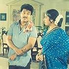 Kamal Haasan and K.R. Vijaya in Per Sollum Pillai (1987)
