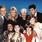 Jonathan Silverman, Joey Lawrence, Nell Carter, Lara Jill Miller, Lauri Hendler, John Hoyt, Kari Michaelsen, and Howard Morton in Gimme a Break! (1981)