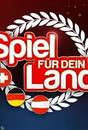 Spiel für Dein Land Poster