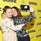 Soraya Sélène and Lena Dunham at an event for Half the Picture (2018)