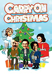 Carry on Christmas: Carry on Stuffing Poster