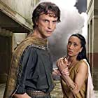 Jonathan Firth and Inika Leigh Wright in Pompeii: The Last Day (2003)