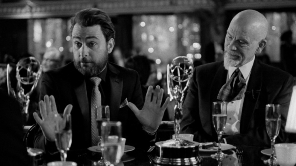 John Malkovich and Charlie Day in I Love You, Daddy (2017)