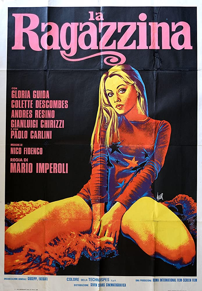 18+ La Ragazzina 1974 English 250MB SDRip 480p