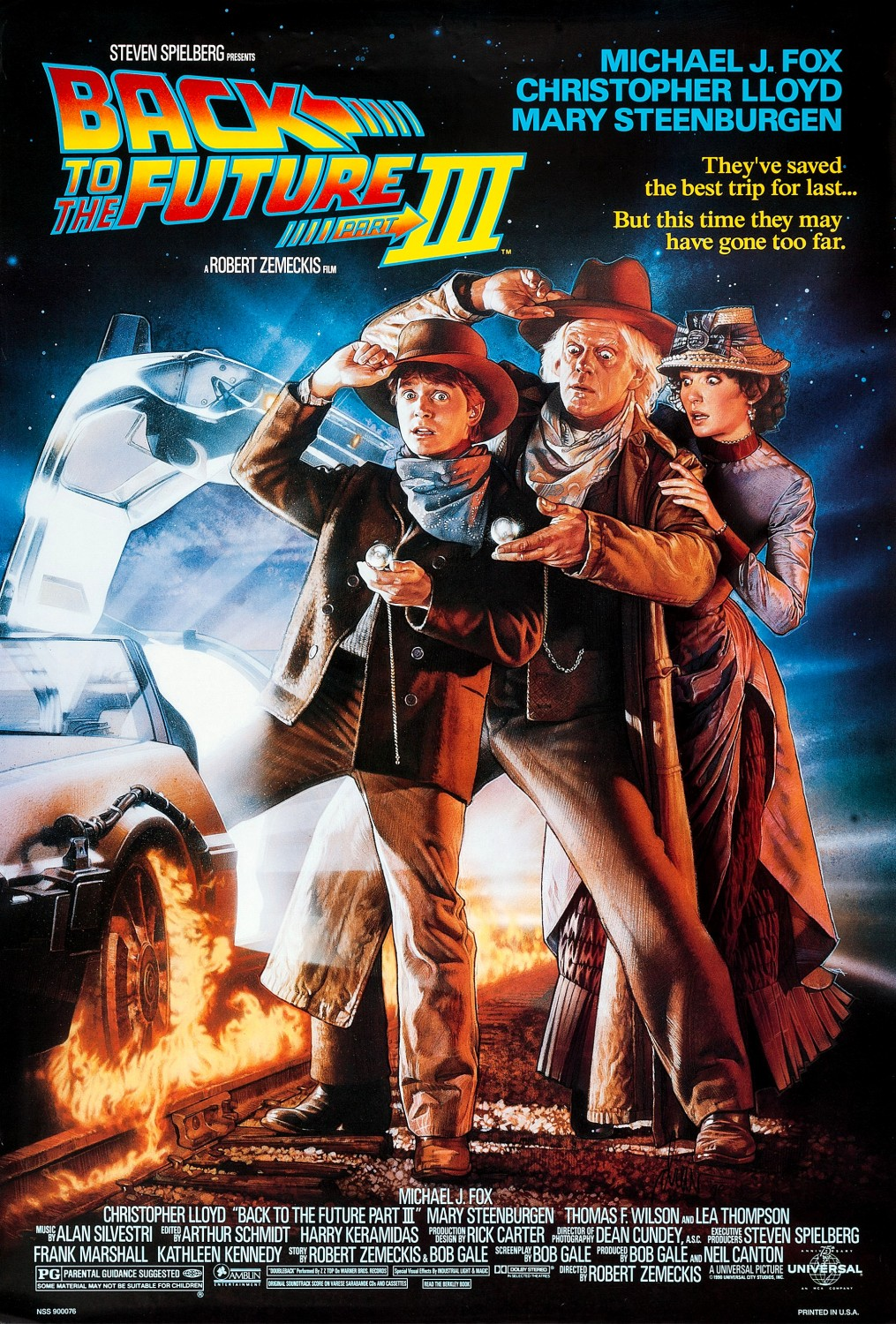 Back to the Future Part III (1990) BluRay 480p, 720p & 1080p