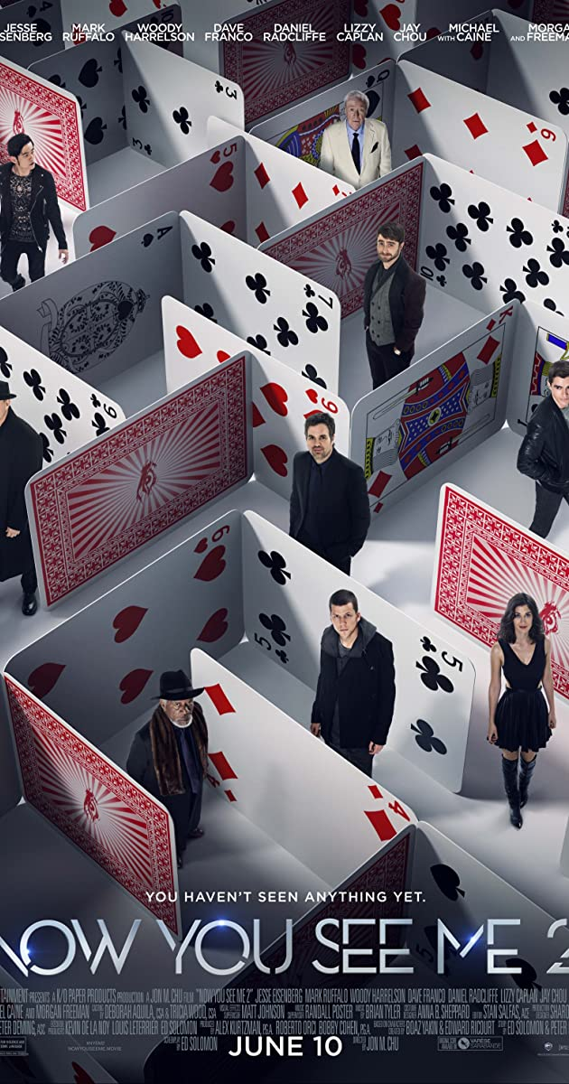 Watch Full HD Movie Now You See Me 2 (2016)