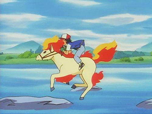 Fire Pokemon Big Race 1997