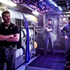 David Boreanaz, Neil Brown Jr., Max Thieriot, and Judd Lormand in SEAL Team (2017)