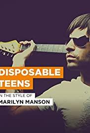 Marilyn Manson: Disposable Teens Poster