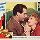 Fred MacMurray and Mary Martin in New York Town (1941)