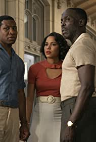 Jurnee Smollett, Michael Kenneth Williams, and Jonathan Majors in Lovecraft Country (2020)