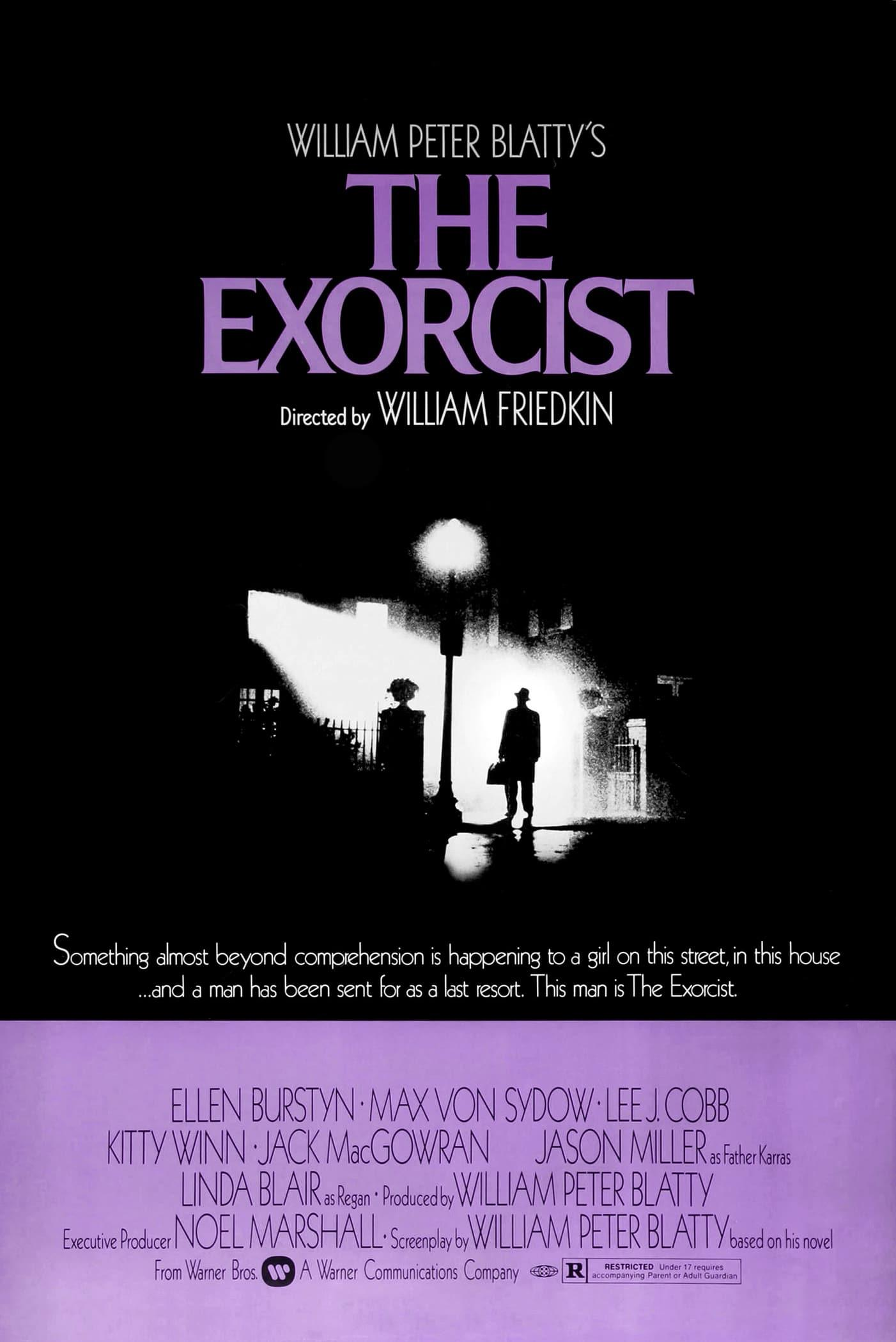 Image result for the exorcist movie poster 1973