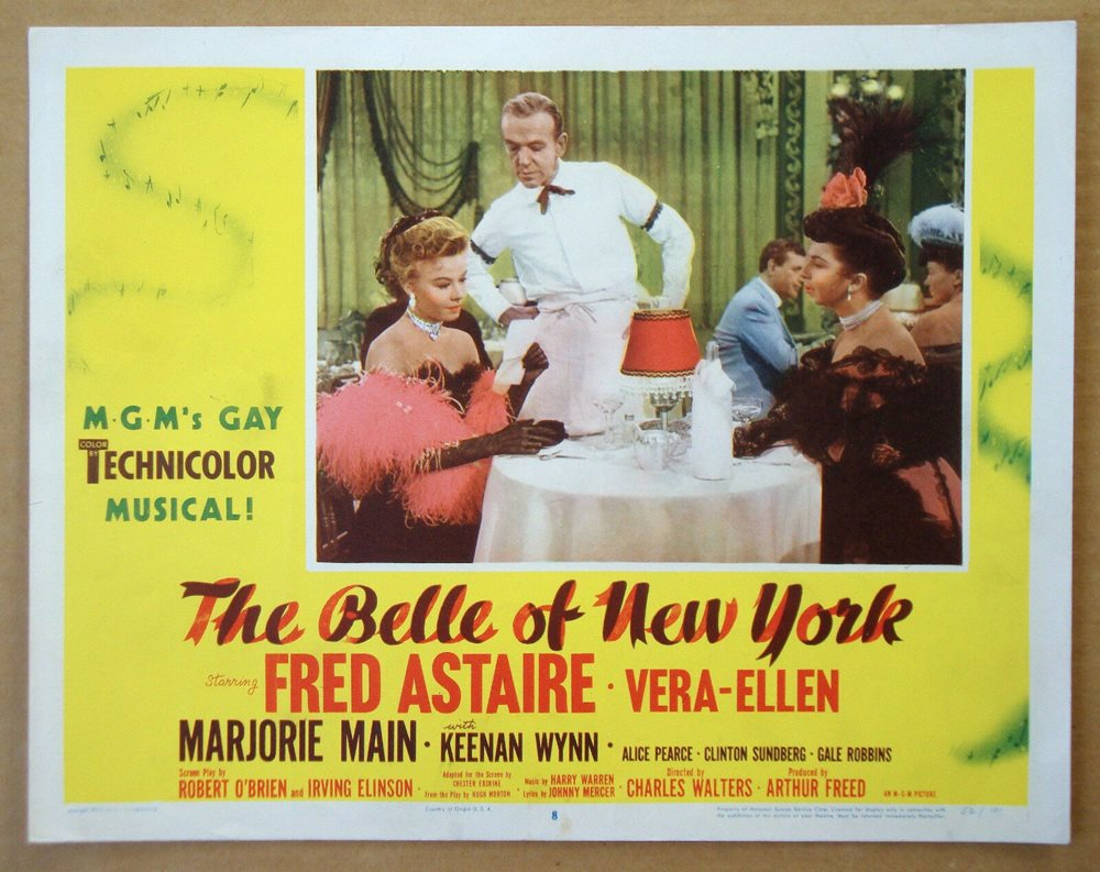 The Belle of New York (1952)