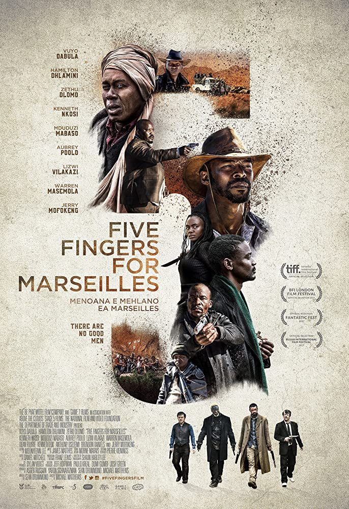 فيلم Five Fingers for Marseilles مترجم