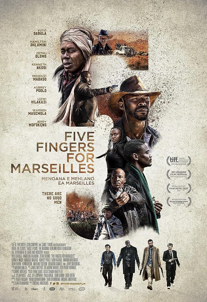 فيلم Five Fingers for Marseilles مترجم, kurdshow
