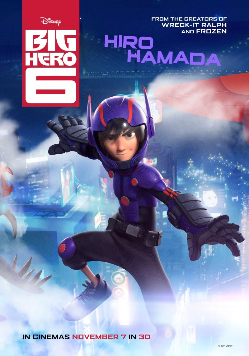 Big Hero 6 (2014) Hindi Dual Audio 480p BluRay ESubs 400MB
