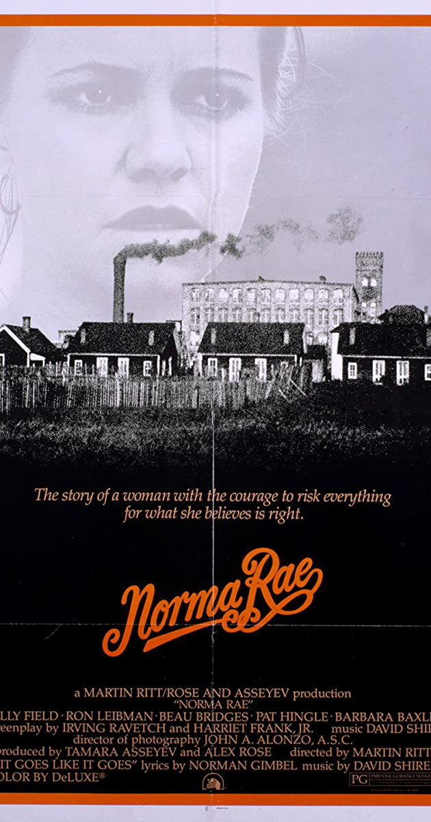 Subtitle of Norma Rae