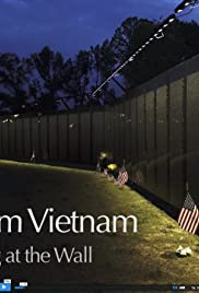 Voices from Vietnam: Reflecting at a Wall Poster