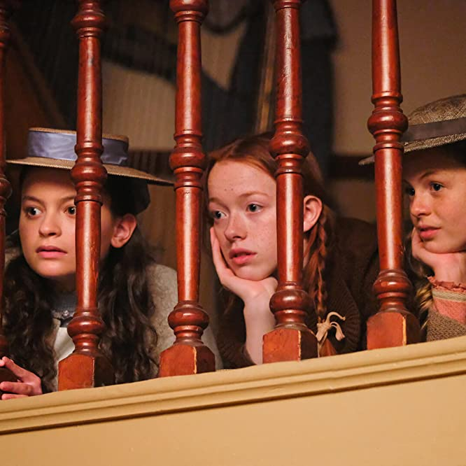 Dalila Bela, Kyla Matthews, and Amybeth McNulty in Anne (2017)