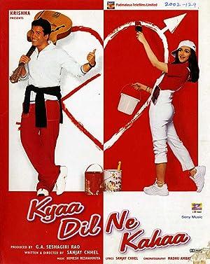 Kyaa Dil Ne Kahaa movie, song and  lyrics