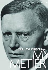 Carl Th. Dreyer: My Métier Poster