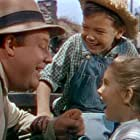 Bobby Driscoll, Burl Ives, and Luana Patten in So Dear to My Heart (1948)