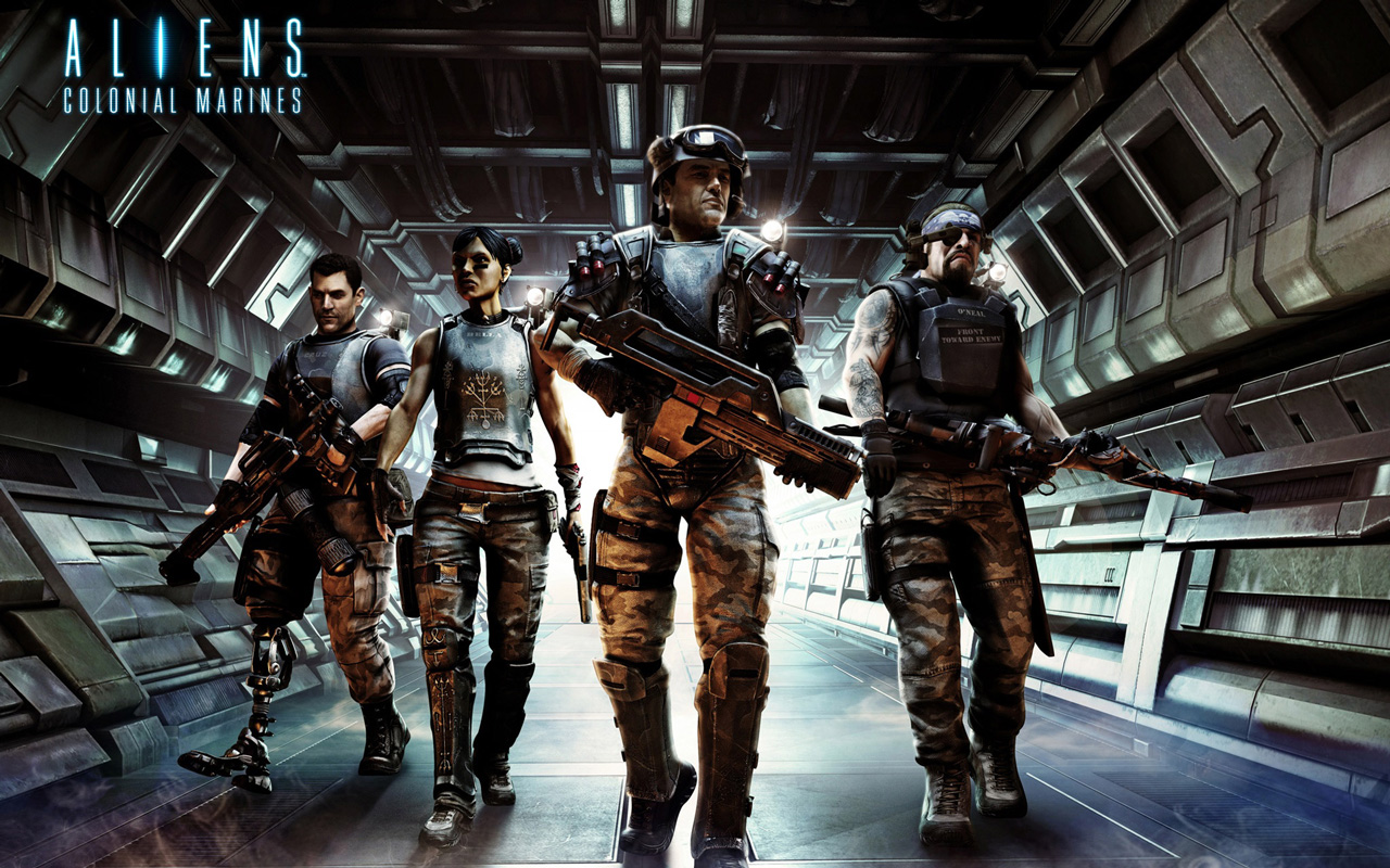 Image result for Aliens: Colonial Marines
