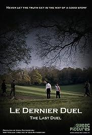 Le Dernier Duel Poster