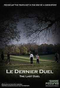 Movie watches database Le Dernier Duel UK [BluRay]