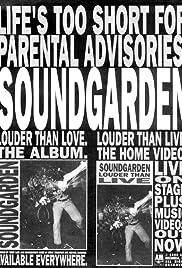 Soundgarden: Louder Than Live Poster