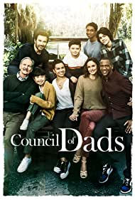 Michael O'Neill, J. August Richards, Tom Everett Scott, Sarah Wayne Callies, Clive Standen, Emjay Anthony, Michele Weaver, Thalia Tran, and Blue Chapman in Council of Dads (2020)