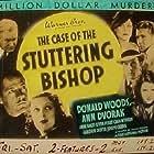 Joseph Crehan, Ann Dvorak, Helen MacKellar, Anne Nagel, Gordon Oliver, Craig Reynolds, and Donald Woods in The Case of the Stuttering Bishop (1937)