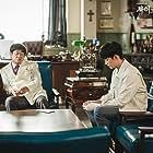 Kim Chang-wan and Kim Soo-hyun in Saikojiman Gwaenchanha (2020)
