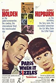 Paris When It Sizzles (1964) Poster - Movie Forum, Cast, Reviews