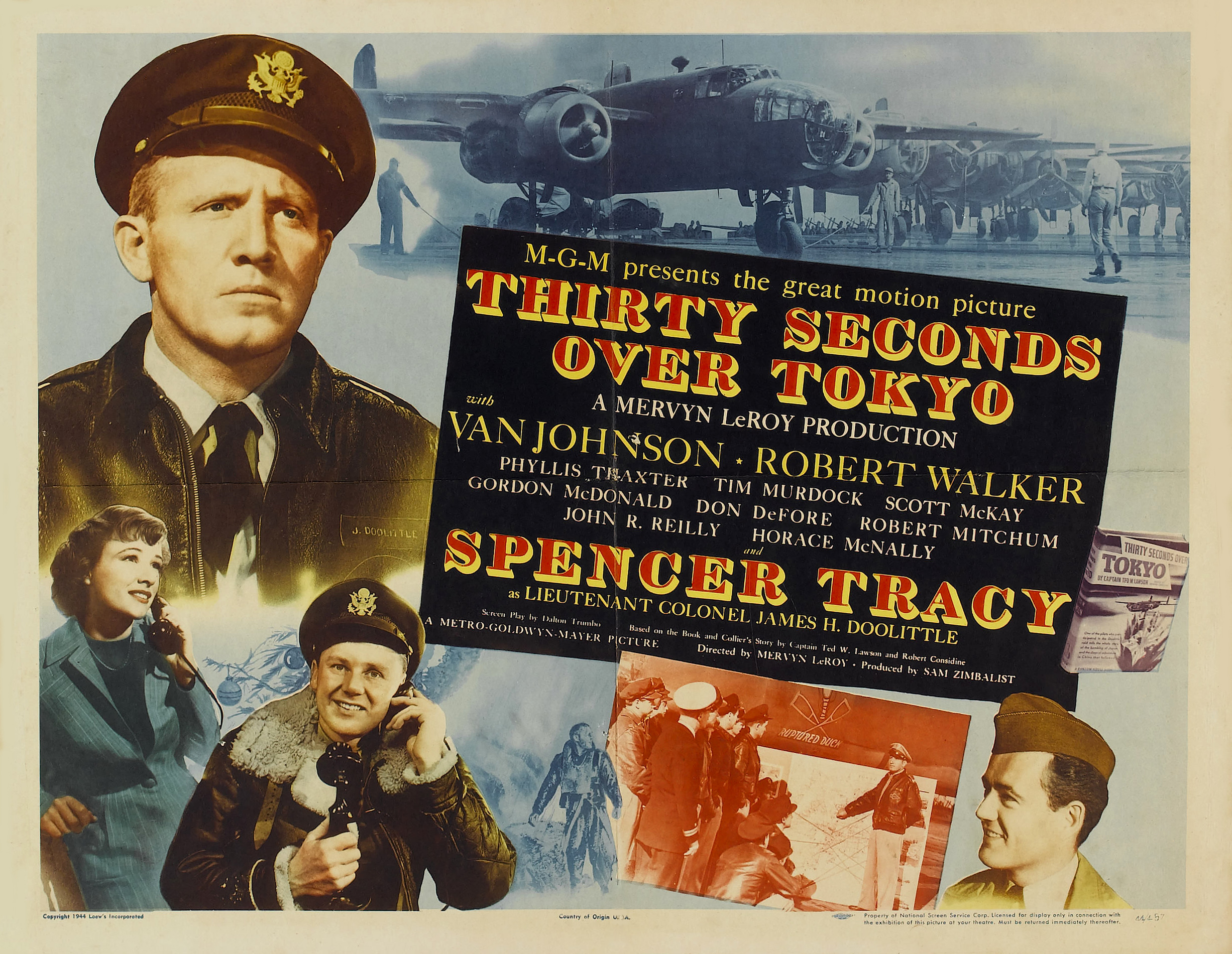 Classic Old Movie : Thirty Seconds Over Tokyo 1944