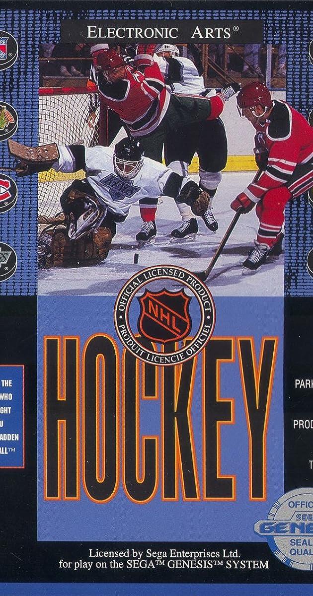 NHL Hockey Video Game 1992