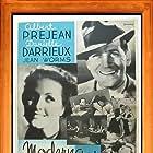 Raymond Cordy, Danielle Darrieux, and Albert Préjean in L'or dans la rue (1934)