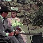 Robert Wagner and Jean Peters in Broken Lance (1954)